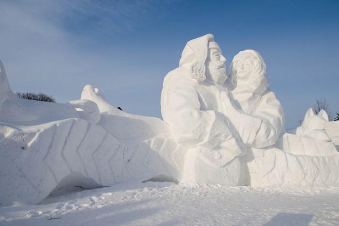 voyageur, festivals, winter festivals, Manitoba, Canada, fun, winter, ice sculptures, snow, family