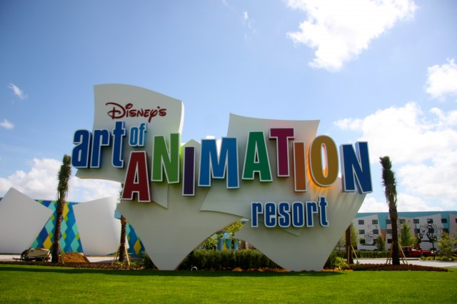 Disney World on a Budget, Disney's Art of Animation, accomodations for five, large family suites