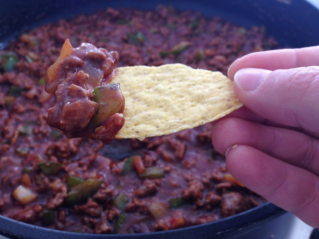 Classic Weeknight Tacos, Campbell's, beef tacos, Taco Tuesday, taco dip