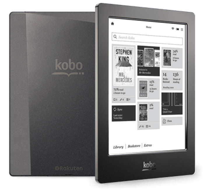 Kobo Aura H2O, crush and covet, what we love, Kobo, gadgets, cool finds, humour, favourite finds, favourite products