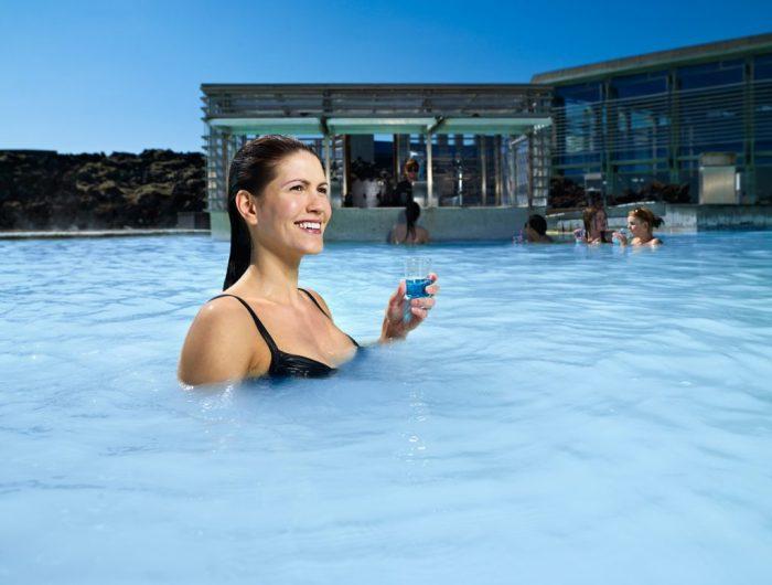 lagoon bar, Blue Lagoon Spa, Iceland, Crush and Covet
