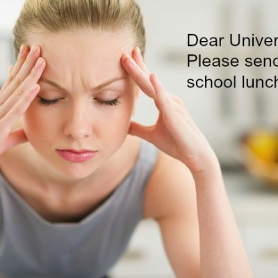 Stuck in School Lunch Hell? How to Get Back on Track