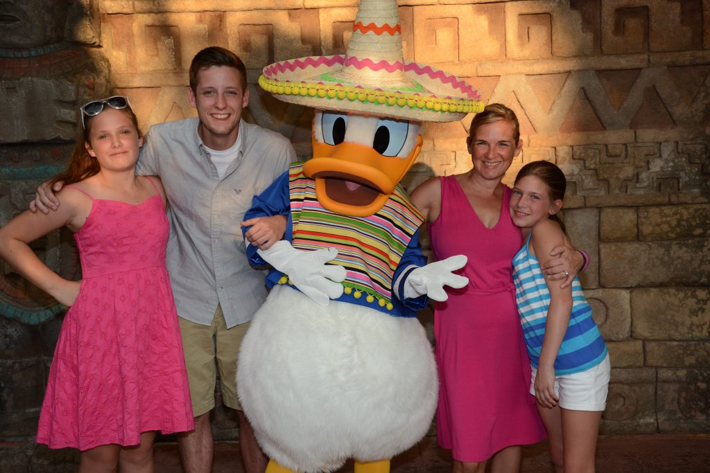 Disney with Teens, Donald Duck at Disney