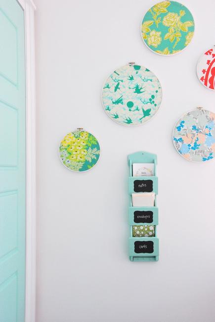 Thrift Store DIY - mailholder