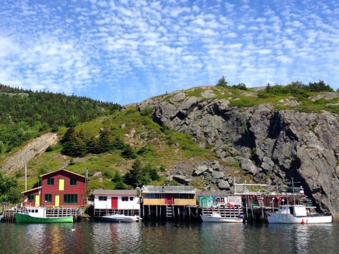 Quidi Vidi just outside of St. John's, family travel in Newfoundland