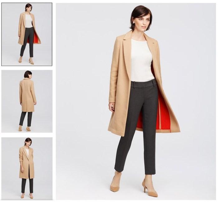 ann taylor wool blend camel coat jpeg