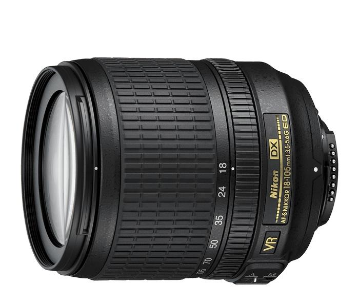 AF-S-DX-NIKKOR-18-105mm-f-3.5-5.6G-ED-VR lens from Nikon