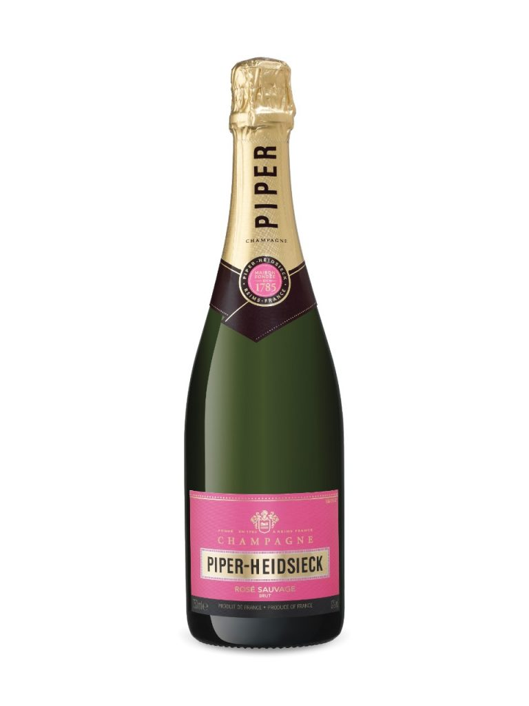 Piper-Heidsieck pink champagne