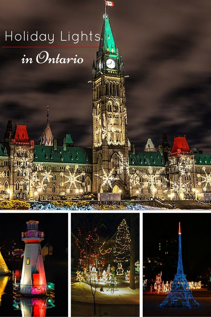 The eight best places to see holiday lights in ontario for Best places to visit for christmas in usa