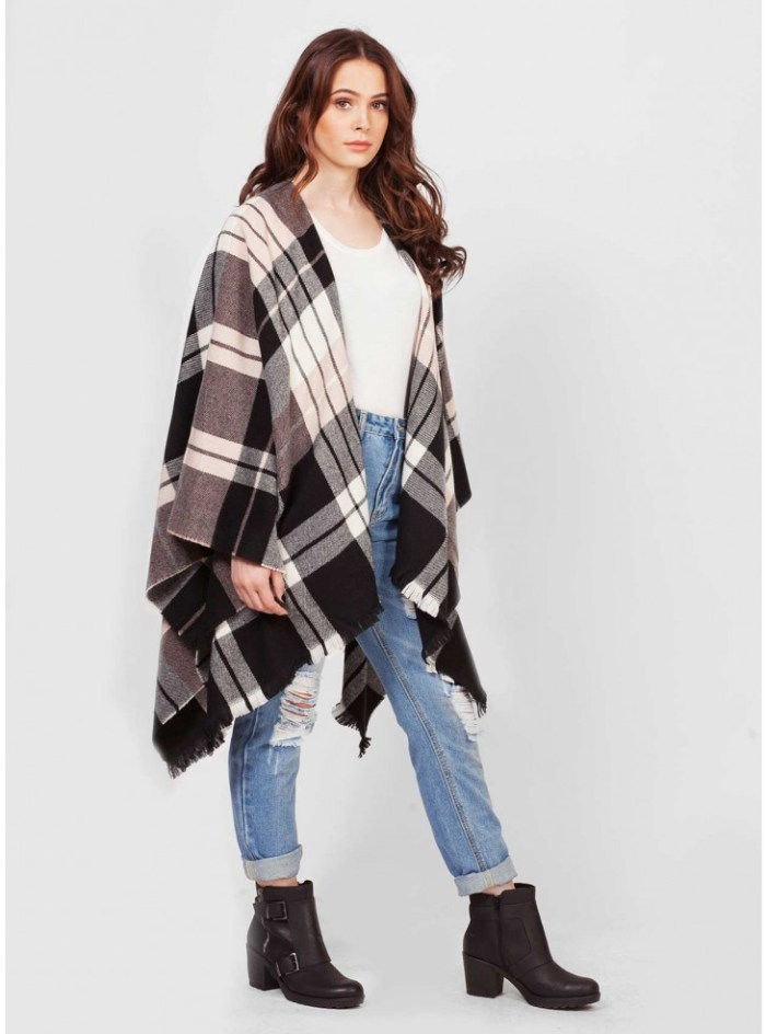 scottish serape shawl