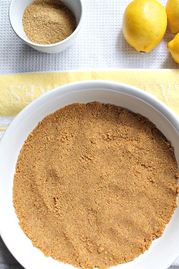 No Bake Lemon Mousse Cheesecake