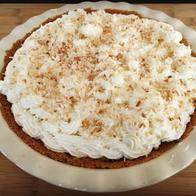 Forget The Rest, This is The Best Coconut Cream Pie