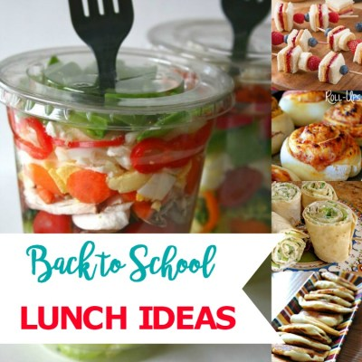Five Back to School Lunch Ideas that Will Save Your Sanity!