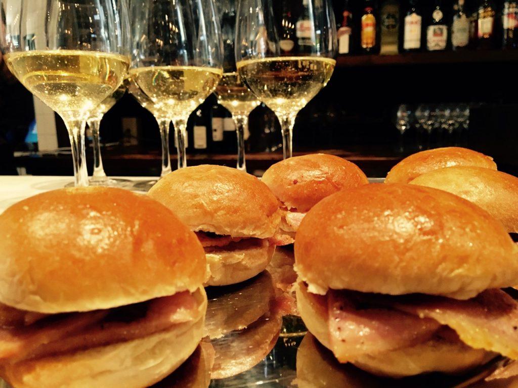 Peameal Bacon Sliders Sunwing Cafe