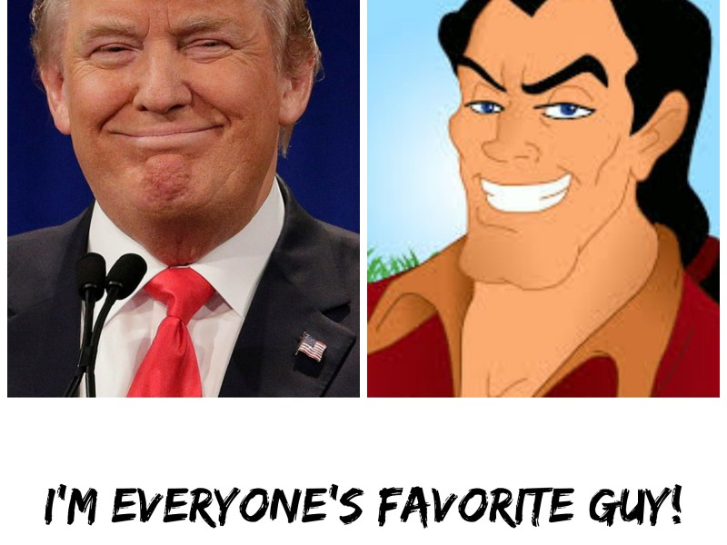 Donal Trump and Gaston