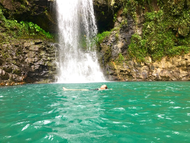 before you go to tahiti, waterfalls,