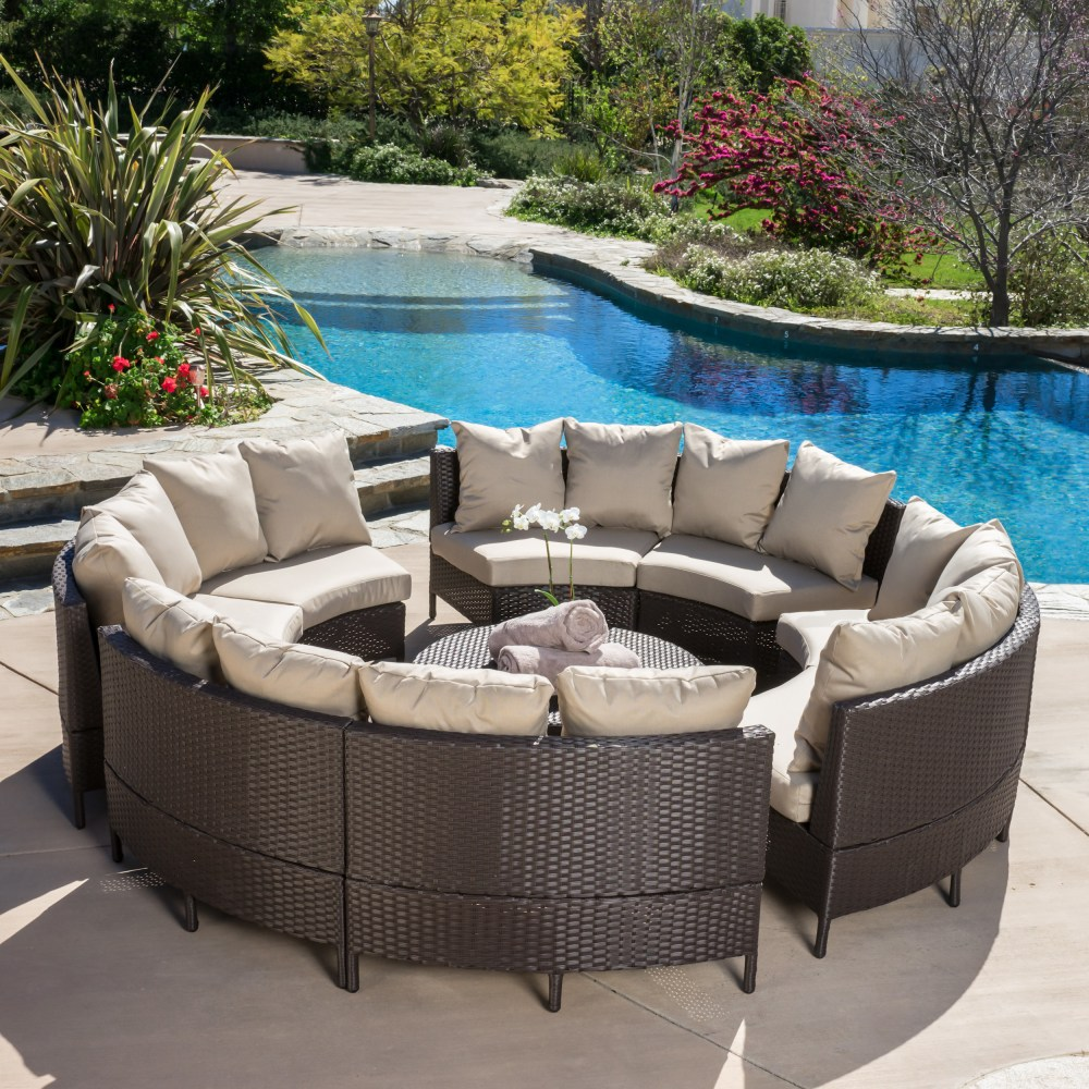 Home-Loft-Concepts-Avalon-Wicker-10-Piece-Lounge-Seating-Group-with-Cushions