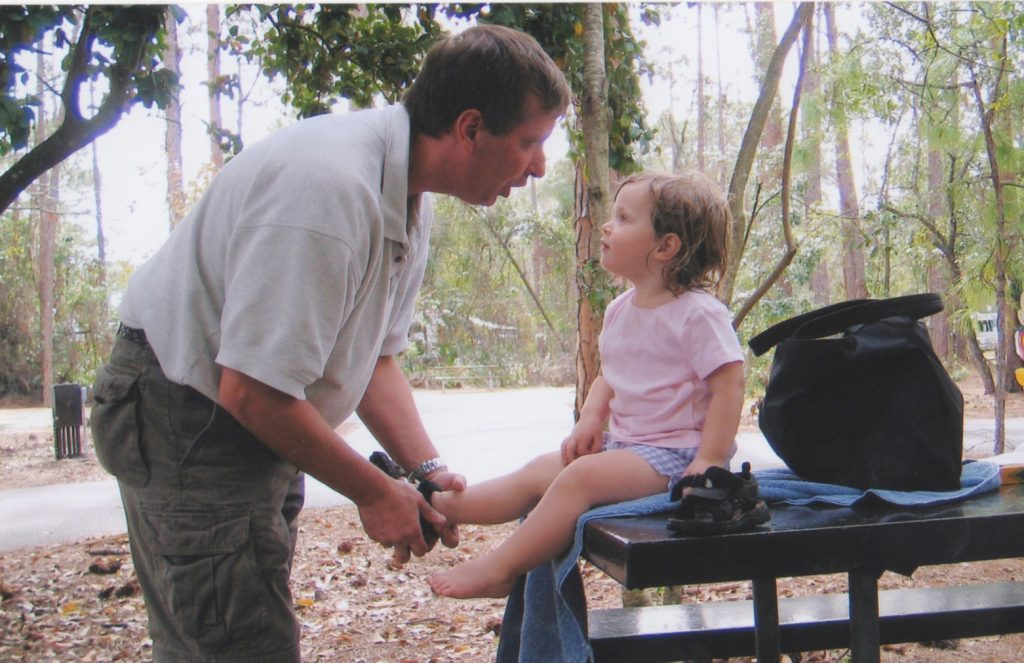 RV escape, taking time to connect, father daughter time