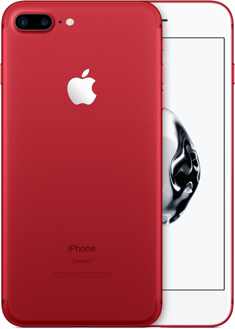 Mother's Day gift iPhone 7 Plus (PRODUCT)RED Special Edition HIV/AIDS Global Fund
