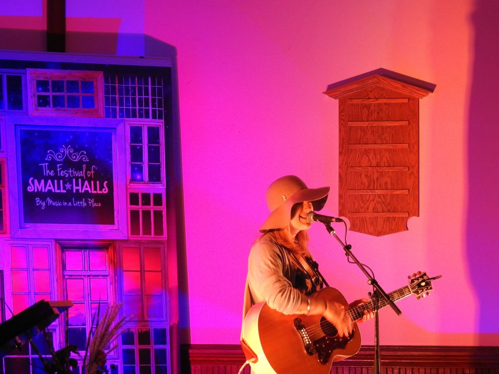 festival of small halls, Vicki Brittle Festival of Small Halls