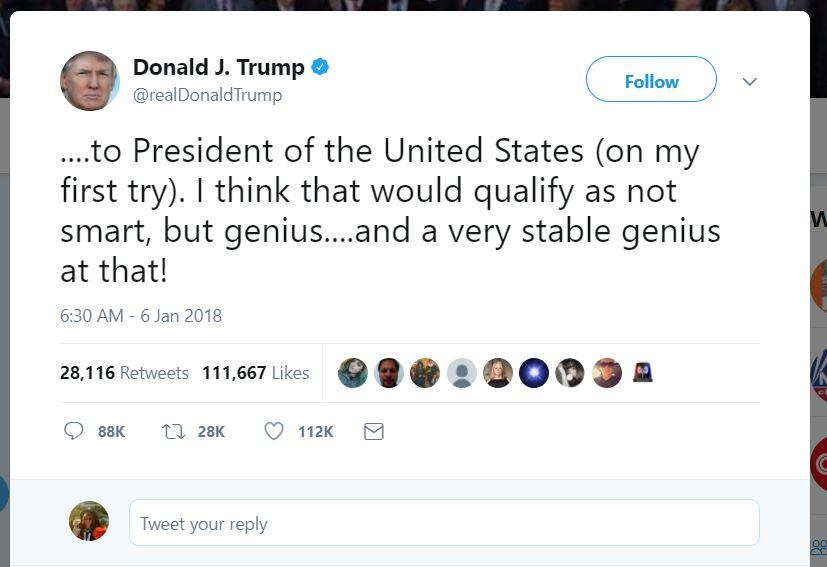 President Donald Trump Neologist