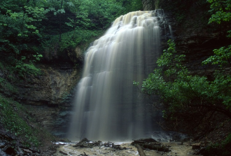 Tiffany Falls - A short list of some of the nicest waterfalls in Hamilton, complete with nearby walking and biking trails.