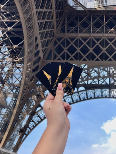 first trip to Paris, Eiffel Tower, buy tickets in advance