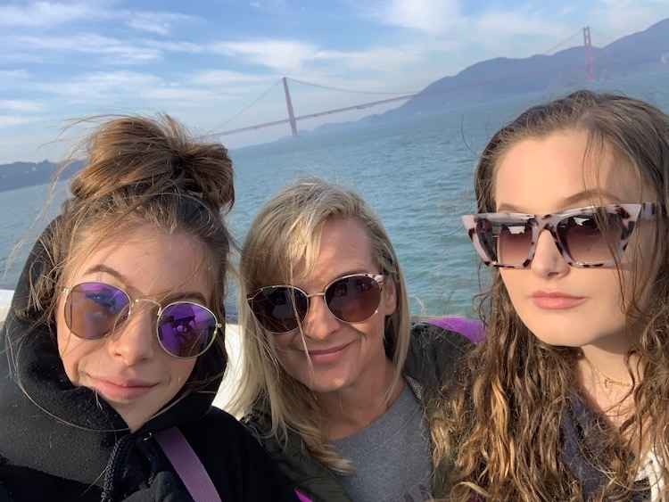 Stuck in San Francisco, golden gate bridge