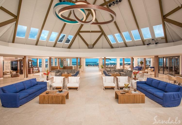 Sandals Montego Bay, lobby