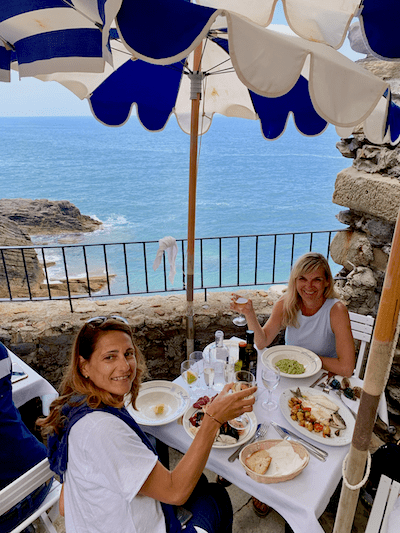 Belforte Restaurant, Vernazza, Cinque Terre, tours in Northern Italy