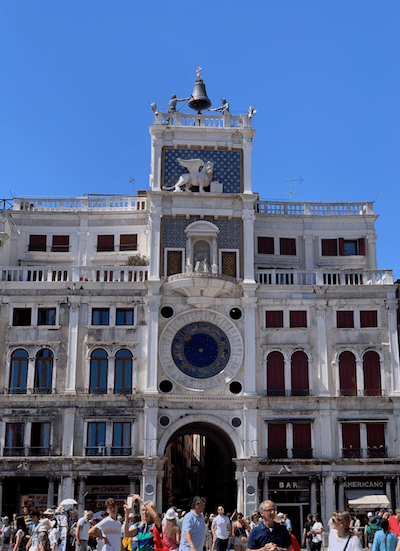 St. Marks Square, Venice, tours, best time to travel without flooding, travel tips for Venice