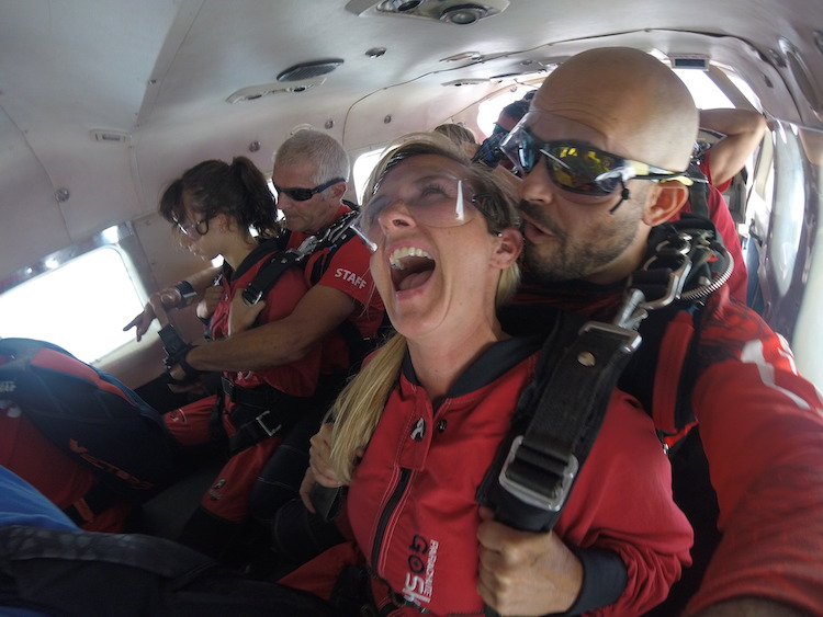 instructors from Go SkyDive put you at ease, skydiving in Ottawa