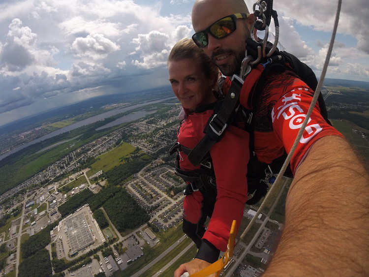 skydiving in Ottawa, where to go, Gatineau, go skydive