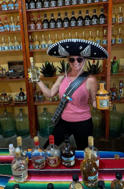 go to Mazatlán for the tequila! Ole!