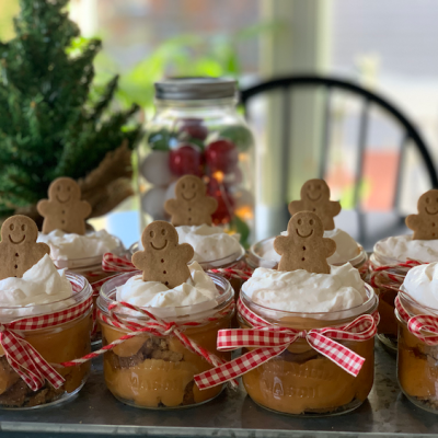 Individual Gingerbread Trifle – Holiday Dessert with Amarula