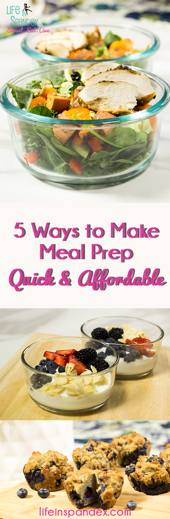 5 ways to make meal prep quick and affordable