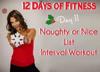 Day 11 Treadmill Interval Workout
