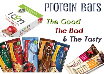 Protein Bars- The Good, The Bad, and the Tasty