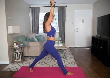Total Body Resistance Band Workout featured