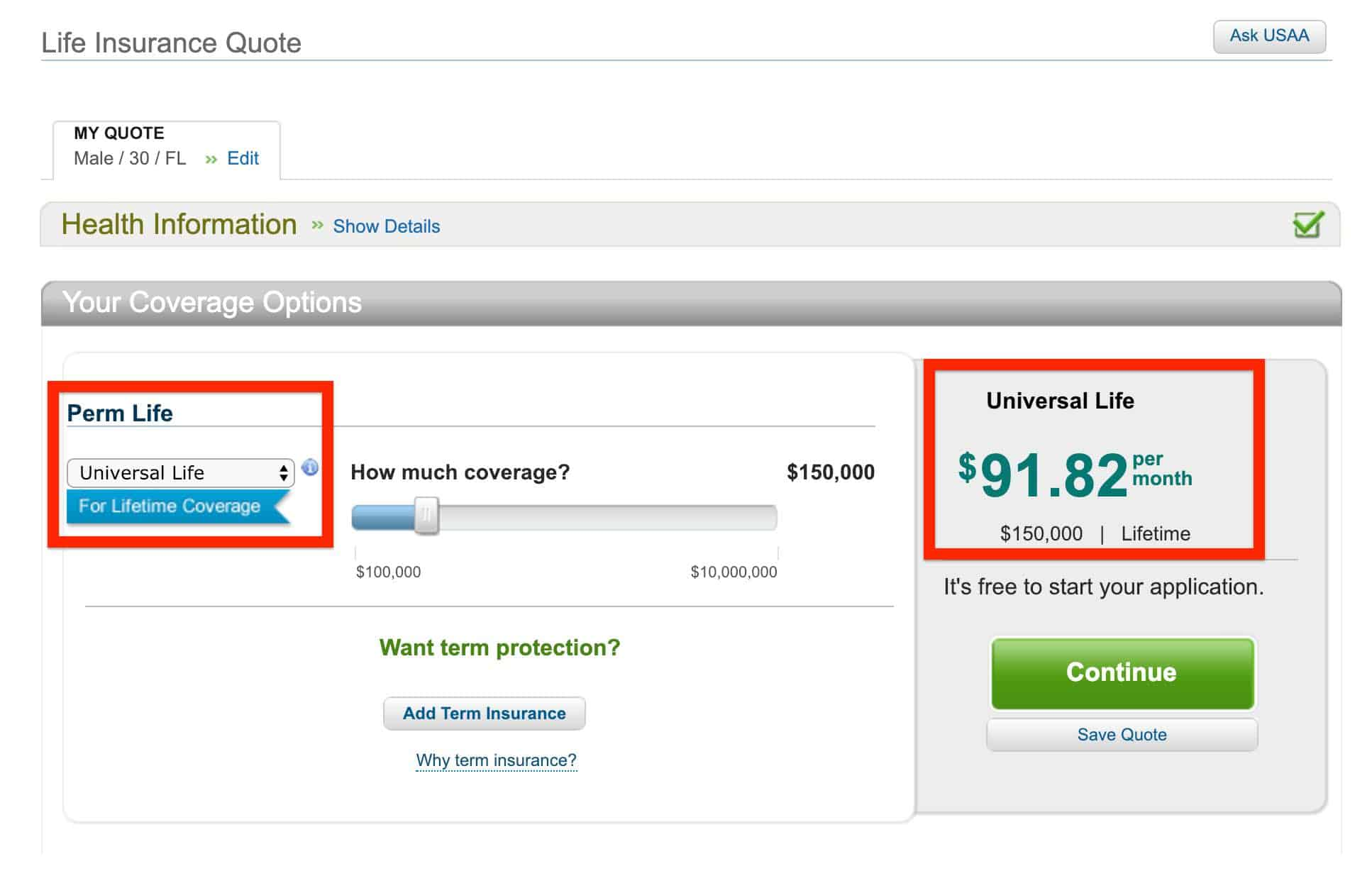 From usaa's life insurance homepage, click get a quote. Usaa Life Insurance - Viral News Blog 24