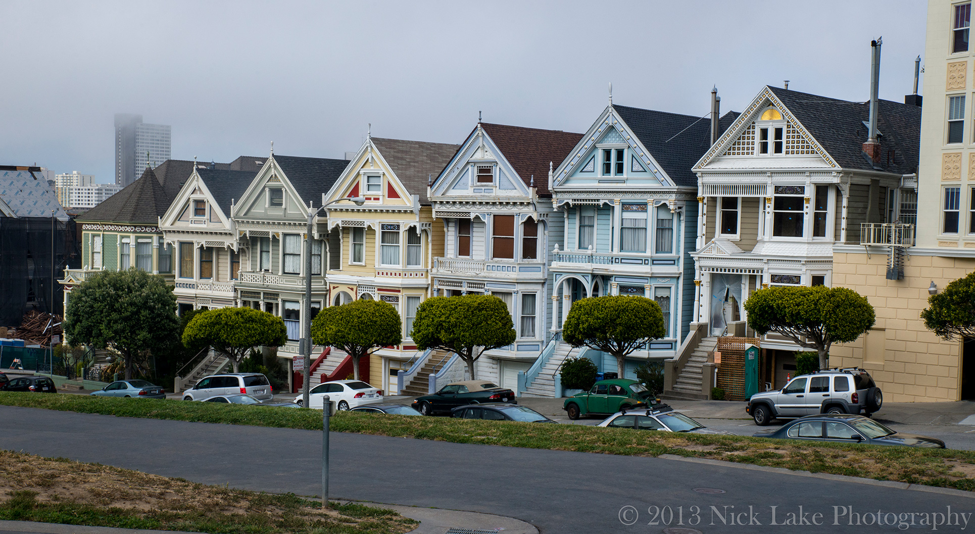 The Painted Ladies are famous from Full House