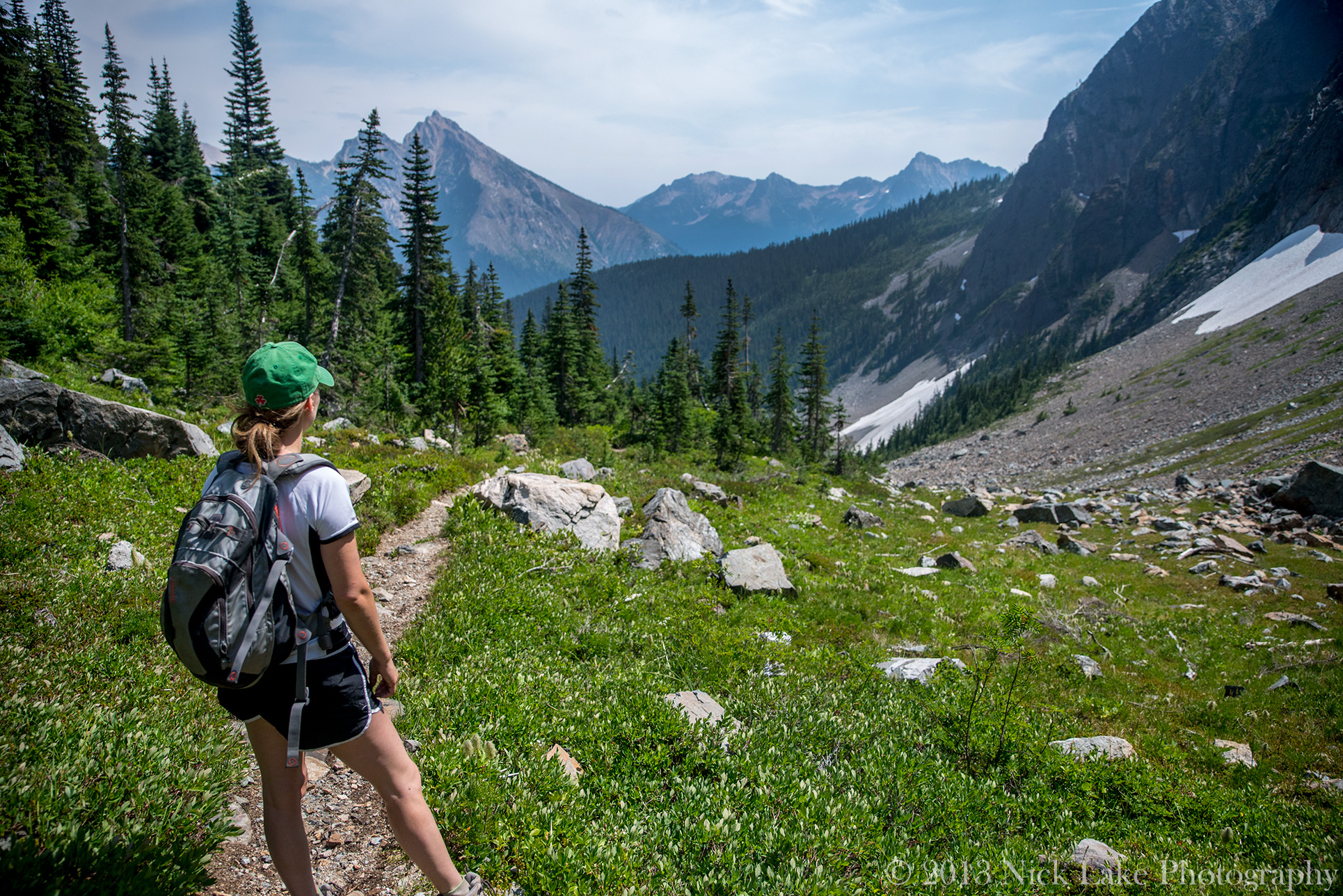 Hiking Easy Pass North Cascades National Park Washington