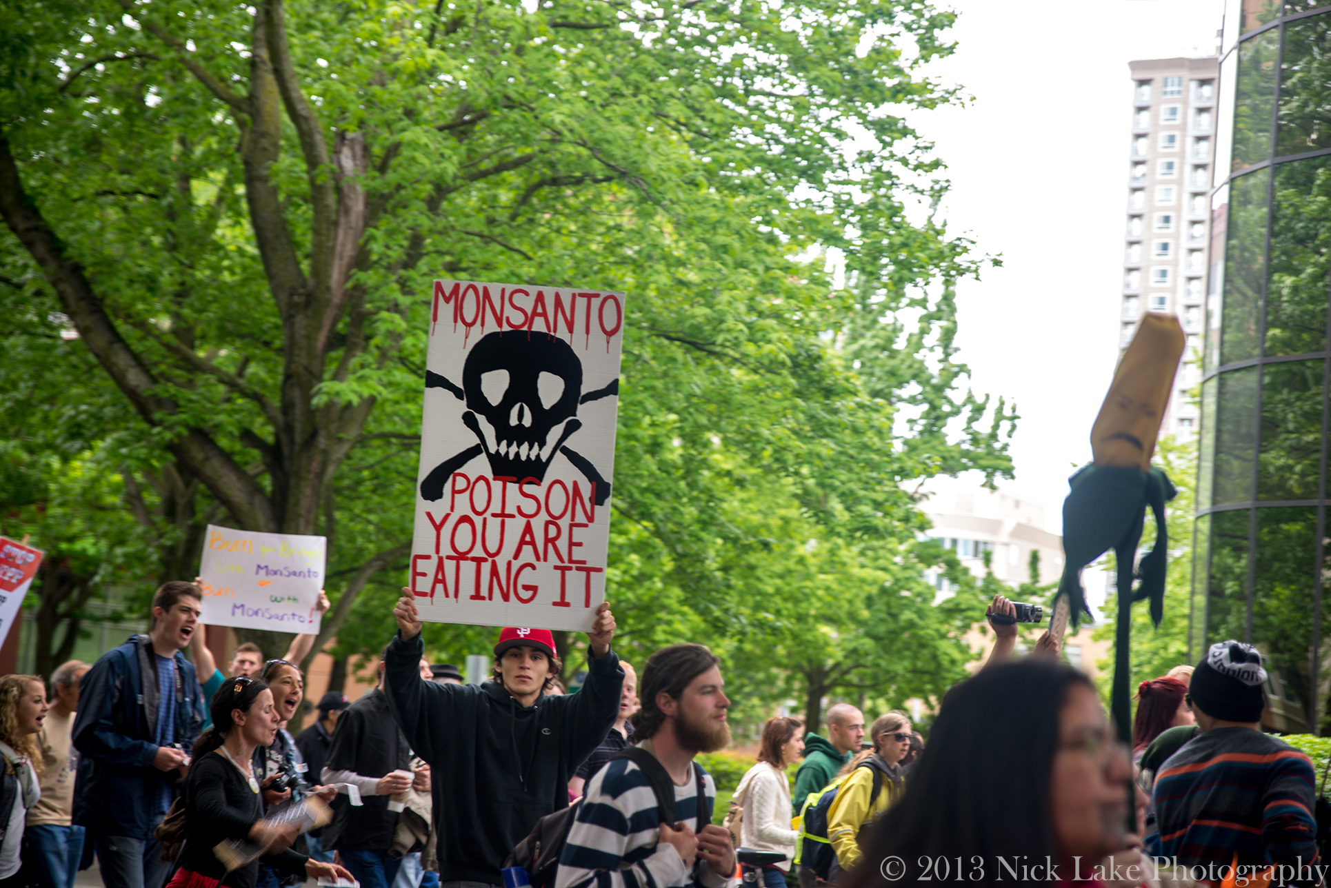 March Against Monsanto Seattle Poison