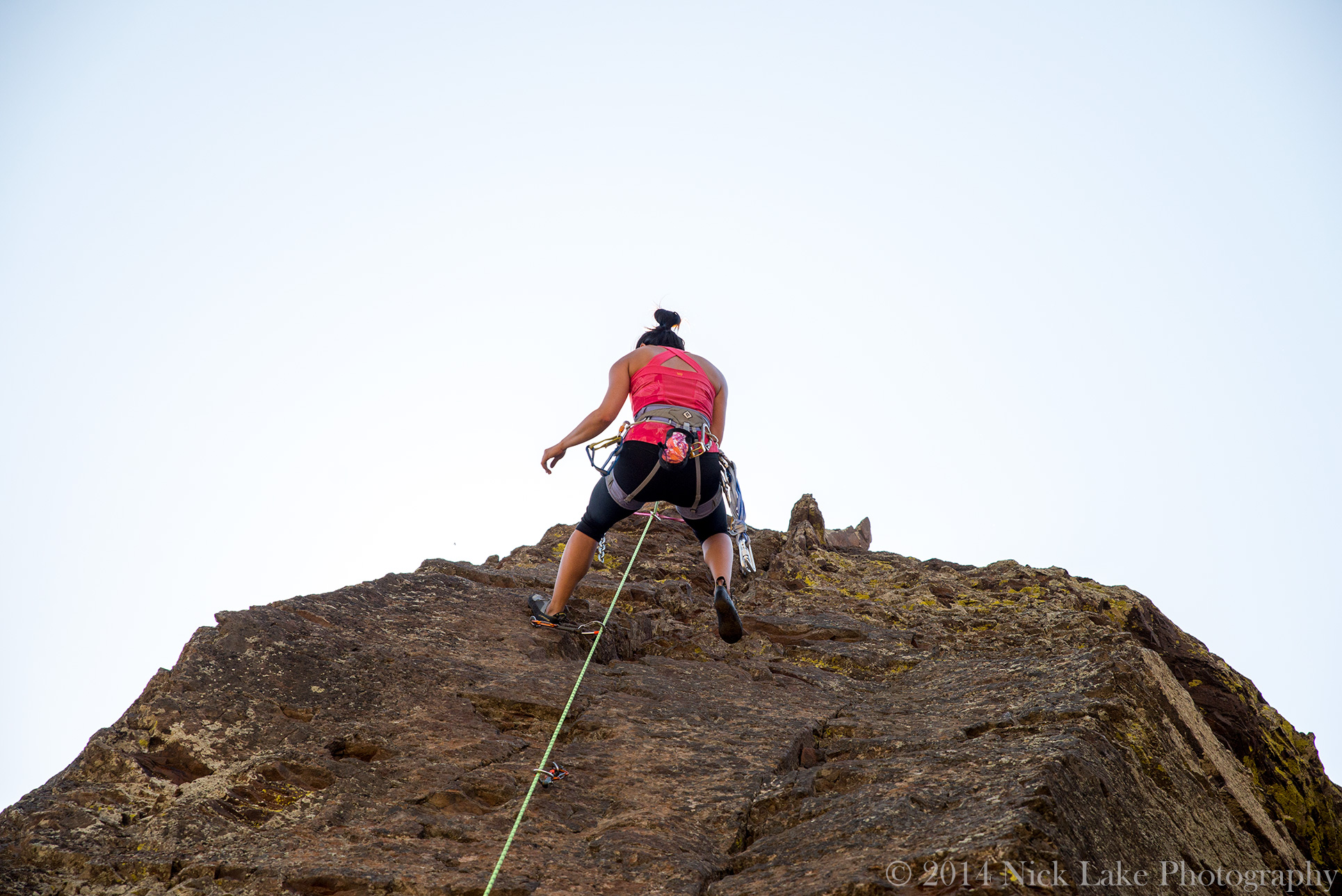 Rappelling The Feathers Frenchman Coulee Vantage Washington