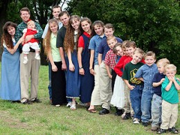 Not all large homeschooling families go bowling with the Duggars.