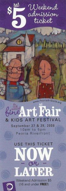 Peoria Fine Arts Fair Ticket
