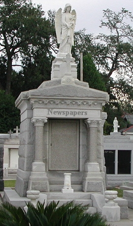 Newspapers Tombstone