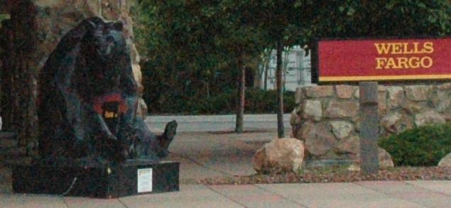 Wells Fargo Bear