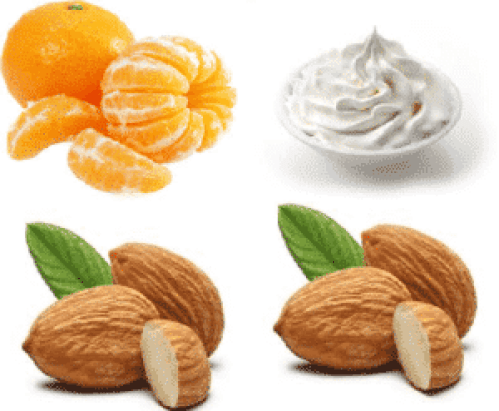 Orange Peels, Almond beauty tips