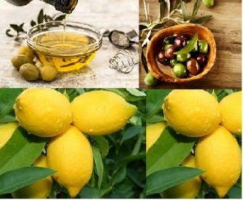 Lemon and Olive Oil Beauty tips
